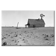 <strong>Buyenlarge</strong> Dust Bowl Farm Canvas Wall Art