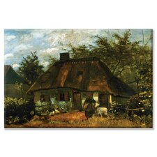 Cottage Painting Print on Canvas