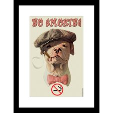 <strong>Buyenlarge</strong> No Smoking Framed and Matted Print