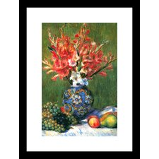 Flowers and Fruit Framed and Matted Print