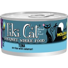 Molokai Luau Tuna on Canned Rice with Calamari Cat Food