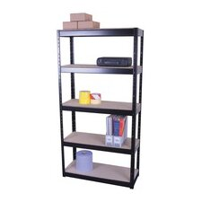 Storage Solutions 4 Shelf Shelving Unit