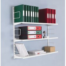 Storage Solutions 3 Shelf Shelving Unit