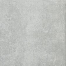 "Reactions 18"" x 18"" Glazed Porcelain Field Tile in Grey"
