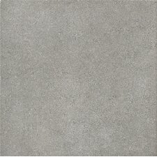 "Natural Living 12"" x 12"" Unpolished Porcelain Field Tile in Grey"