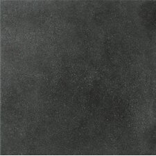 "Natural Living 12"" x 12"" Unpolished Porcelain Field Tile in Dark"