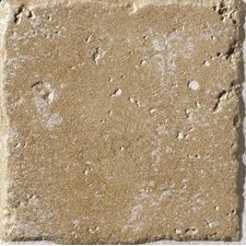 "Italian Country 4"" x 4"" Glazed Porcelain Field Tile in Noce"