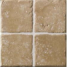 "Italian Country 4"" x 4"" Bullnose Tile Trim in Noce"