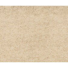 "Natural Living 12"" x 3"" Bullnose Rectified Tile Trim in Sand"
