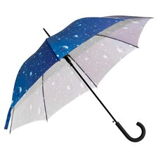 <strong>Elite Rain</strong> Auto-Open Print Umbrella