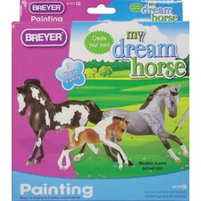 <strong>Breyer Horses</strong> Horse Family Painting Play Set