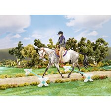Cavaletti Horse Figurine Training Set