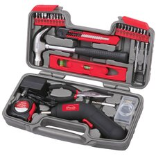 <strong>Apollo Tools</strong> 69 Piece Household Tool Kit with 4.8V Cordless Screwdriver
