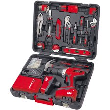 184 Piece Kit with 18V Drill