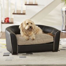 <strong>Enchanted Home Pet</strong> Ultra Plush Remy Dog Sofa