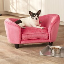 <strong>Enchanted Home Pet</strong> Ultra Plush Snuggle Dog Sofa