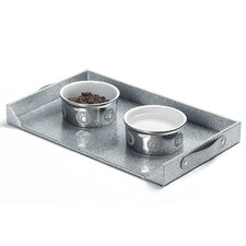 <strong>Enchanted Home Pet</strong> Dog Feeding Platter