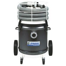 Dynavac 8 Gallon 2 Peak HP Dry Concrete Wet / Dry Vacuum