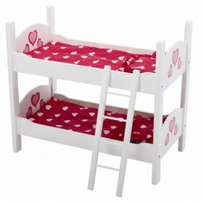 Wooden Doll Bunk Bed