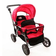 <strong>The New York Doll Collection</strong> Twin Doll Stroller