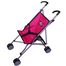 <strong>The New York Doll Collection</strong> Travel Doll Stroller