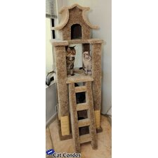 "67"" Designer Pagoda Cat Tree"