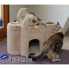 Paw Print Cat Condo
