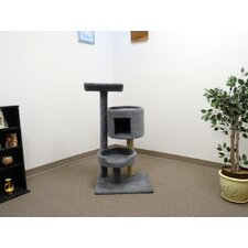 "45"" Premier Cat Bungalow Cat Tree"