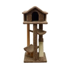 "46"" Large Pagoda Cat Tree"
