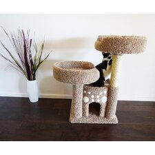 Double Perch Cat Condo