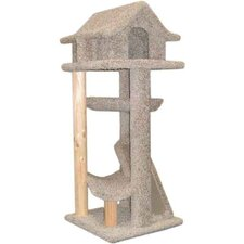 "46"" Large Pagodas Cat Tree"