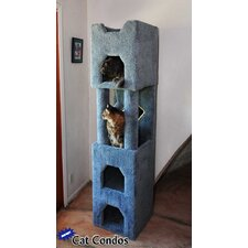 "71"" Tall Cat Tower"
