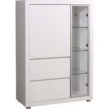 Fino Display Cabinet with Right Framed Glass Door