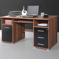 Office Computer Desk with Keyboard Drawer