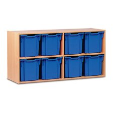 Jumbo 2 Shelf Shelving Unit