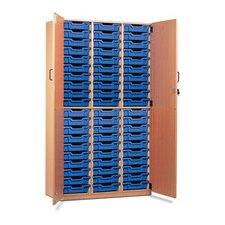 2 Shelf Storage Cabinet