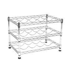 UltraZinc 12 Bottle Wine Rack