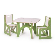 Kids 3 Piece Table & Chair Set