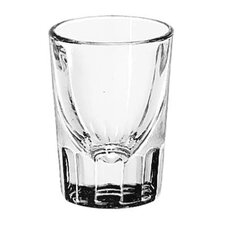 <strong>Libbey</strong> Whiskey Service 1.25 oz. Fluted Shot Glass (Set of 48)
