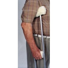 Sheepette Crutch Cover with Arm and Grip