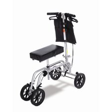 <strong>Essential Medical</strong> Free Spirit Knee Walker in Black and Silver