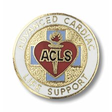 Advanced Cardiac Life Support Emblem Pin