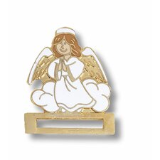 Guardian Angel Cloisonne Badge Tac