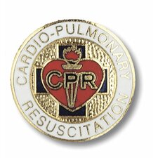 Cardio Pulmonary Resuscitation with Emblem Pin