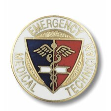 Emergency Medical Technician Emblem Pin