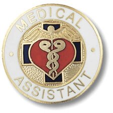 Medical Assitant Emblem Pin
