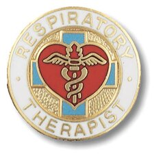 Respiratory Therapist Emblem Pin