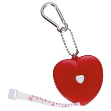 Heart Key Tag Tape Measure