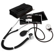Aneroid Sphygmomanometer Sprague with Rappaport Stethoscope Kit