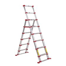 Pro-Series Telescoping 7.5ft Extension Ladder